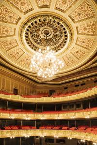 Interior of Latvian National Opera Building, Riga, Latvia, Baltic States, Europe by Ben Pipe