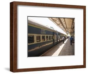 Karwal Train Station Platform, Goa, India, South Asia by Ben Pipe