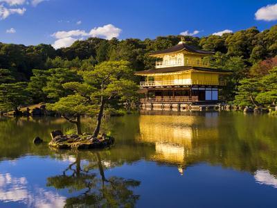Kinkaku-Ji (Temple of the Golden Pavilion), Kyoto, Japan, Asia