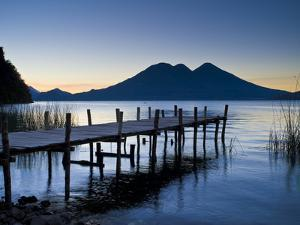 Lake Atitlan, Western Highlands, Guatemala, Central America by Ben Pipe