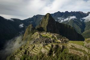 Machu Picchu, UNESCO World Heritage Site, the Sacred Valley, Peru, South America by Ben Pipe