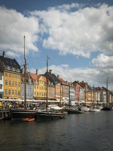 Nyhavn Harbour, Copenhagen, Denmark, Scandinavia, Europe by Ben Pipe
