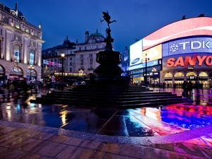 Piccadilly Circus, London, England, United Kingdom, Europe by Ben Pipe