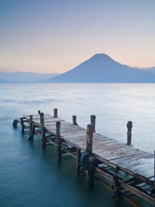 Santa Cruz La Laguna, Lake Atitlan, Western Highlands, Guatemala, Central America by Ben Pipe