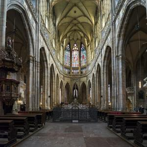 St. Vitus Cathedral, Prague, Czech Republic, Europe by Ben Pipe