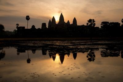 Sunrise over Angkor Wat by Ben Pipe