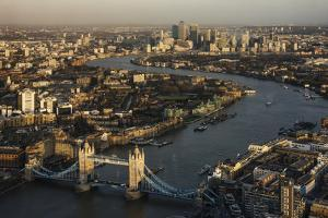 The View from the Shard, London, England, United Kingdom, Europe by Ben Pipe