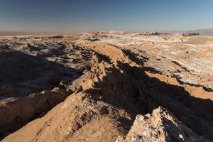 Valle De La Luna (Valley of the Moon), Atacama Desert, El Norte Grande, Chile, South America by Ben Pipe