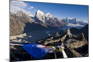 View from Gokyo Ri, 5300 Metres, Dudh Kosi Valley, Solu Khumbu (Everest) Region, Nepal, Himalayas by Ben Pipe