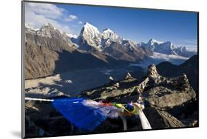 View from Gokyo Ri, 5300 Metres, Dudh Kosi Valley, Solu Khumbu (Everest) Region, Nepal, Himalayas by Ben Pipe