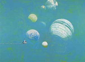 Navigation, 1991 by Ben Schonzeit