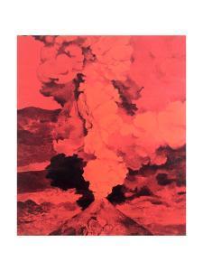 Red Volcano, 1985 by Ben Schonzeit