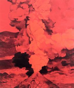 Red Volcano, 1985 by Ben Schonzeit