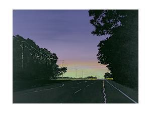 Southhold Road, 2000 by Ben Schonzeit