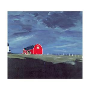 The Red Barn, 1985 by Ben Schonzeit