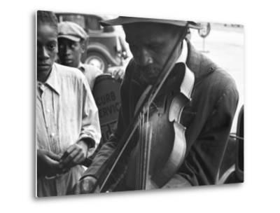 Blind Street Musician, West Memphis, Arkansas, c.1935
