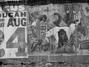 Circus Poster, Smithland, Kentucky, c.1935 by Ben Shahn