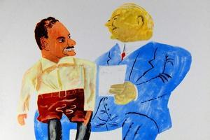 Dewey And Hoover by Ben Shahn
