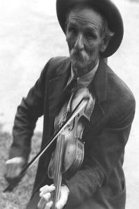Fiddlin' Bill Henseley, Mountain Fiddler by Ben Shahn
