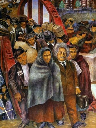 Immigrants, Nyc, 1937-38 by Ben Shahn