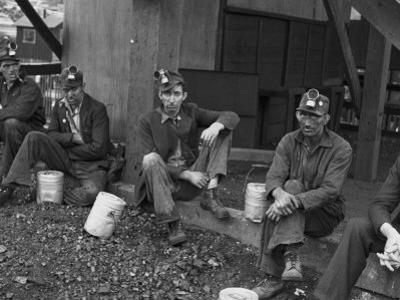 Kentucky Coal Miners, Jenkins, Kentucky, c.1935 by Ben Shahn