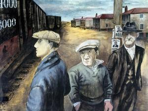 Shahn: Three Men by Ben Shahn