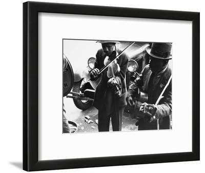 Street Musicians, 1935