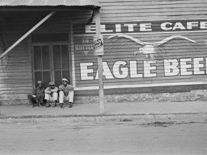 Street Scene, Natchez, Mississippi, c.1935 by Ben Shahn