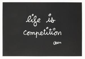 IIfe Is Competition by Ben Vautier