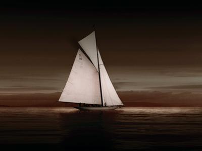 Lady Anne Sailing Sepia
