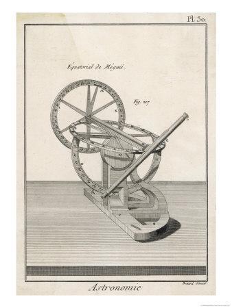 Megnie's Equatorial Telescope