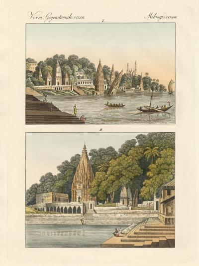 Benares and its Pagodas--Giclee Print