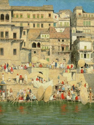Benares, Blue Is the Sky-Mose Bianchi-Giclee Print