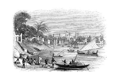 Benares, India, 1847- Kirchner-Giclee Print