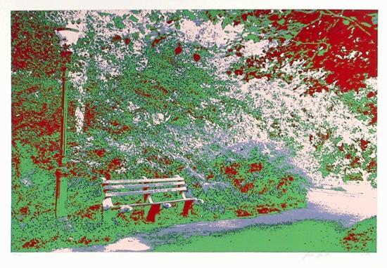 Bench in the Park-Max Epstein-Limited Edition