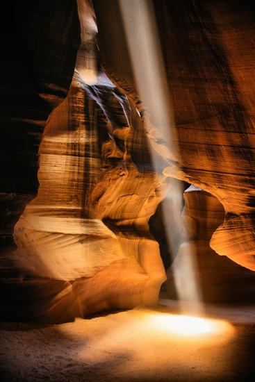 Beneath The Earth, Antelope Canyon, Southwest US, Page, Arizona, Navajo-Vincent James-Photographic Print