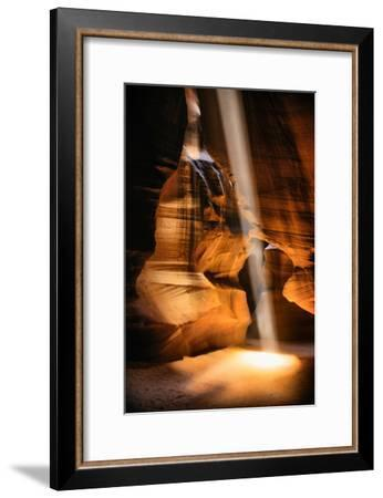 Beneath The Earth, Antelope Canyon, Southwest US, Page, Arizona, Navajo-Vincent James-Framed Photographic Print