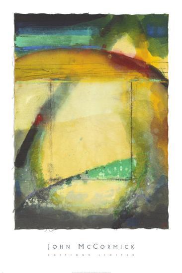 Beneath the Unseen Silence-John McCormick-Art Print