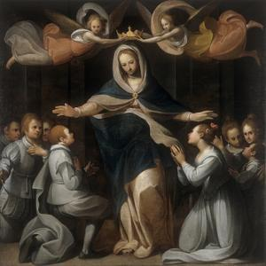 Our Lady of Mercy with the Orphans by Benedetto Marini