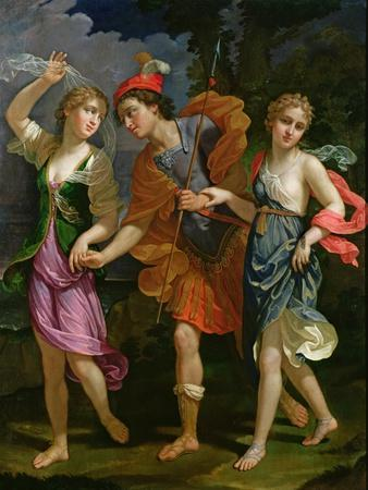 Theseus with Ariadne and Phaedra, the Daughters of King Minos, 1702