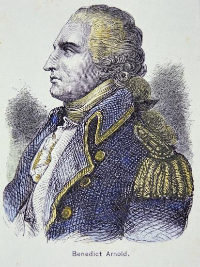 Benedict Arnold (Colour Litho)-American-Giclee Print