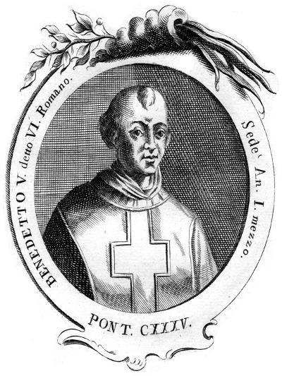 Benedict V, Pope of the Catholic Church--Giclee Print