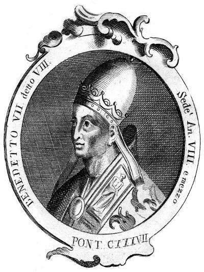 Benedict Vii, Pope of the Catholic Church--Giclee Print