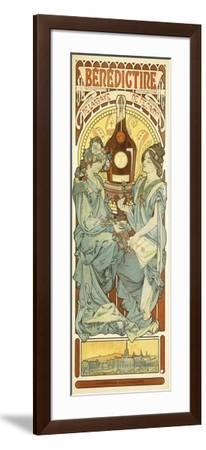 Benedictine, 1898-Alphonse Mucha-Framed Giclee Print