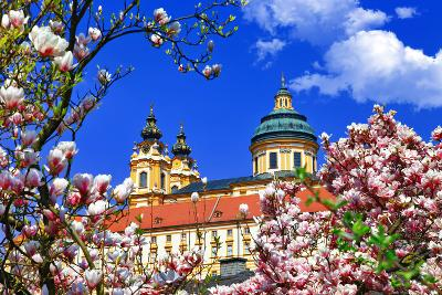 Benedictine Abbey in Melk, Austria-Freesurf-Photographic Print