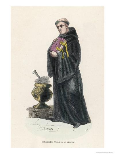 Benedictine Monk in England-L'abbe Tiron-Giclee Print