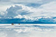 Exploring the Salar De Uyuni with Spectacular Reflections-Benedikt Juerges-Photographic Print