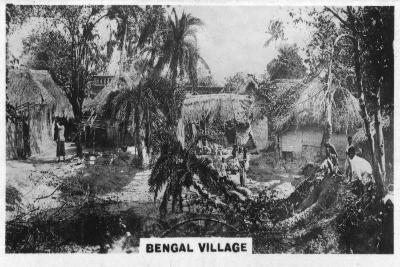 Bengal Village, Calcutta, India, C1925--Giclee Print