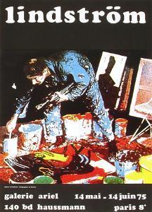 Expo 75 - Galerie Ariel by Bengt Lindstroem