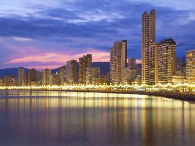 Benidorm, Alicante Province, Spain, Mediterranean, Europe-Billy Stock-Photographic Print